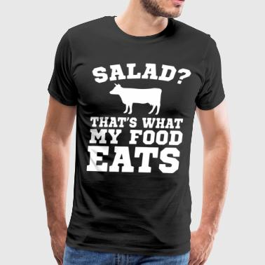 salad that s what my food eats t-shirts - Men's Premium T-Shirt