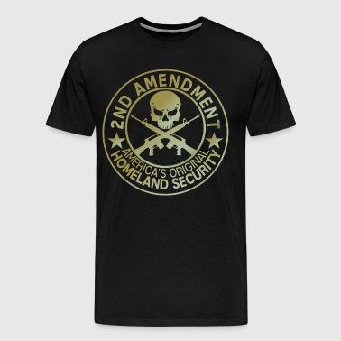2nd Amendment security america - Men's Premium T-Shirt