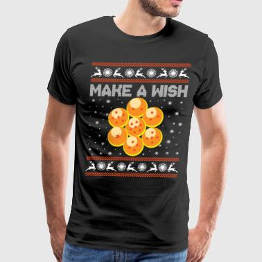 7 dragonballs collected, now let's make a wish! - Men's Premium T-Shirt