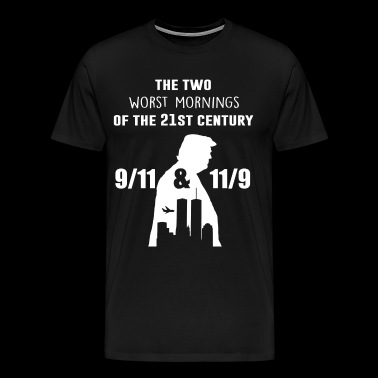 The two worst mornings of the 21st century - Men's Premium T-Shirt