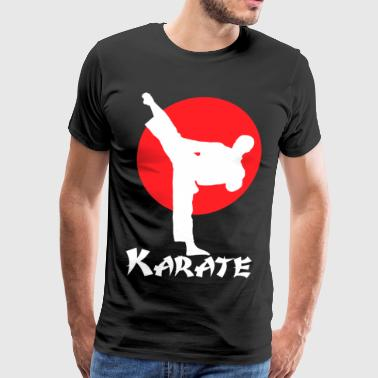Karate Art of Empty Hand - Men's Premium T-Shirt