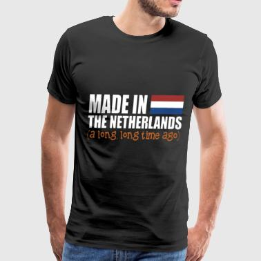 made in the netherlands a long long time ago grand - Men's Premium T-Shirt