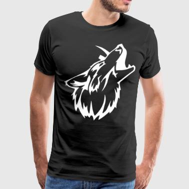 Tribal Wolf Gym Workout MMA Bodybuild - Men's Premium T-Shirt