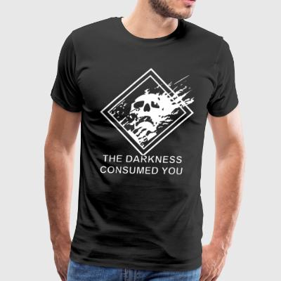 DESTINY DARKNESS CONSUMED YOU - Men's Premium T-Shirt