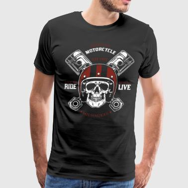 American motorcycle est 1903 live to ride ride to - Men's Premium T-Shirt