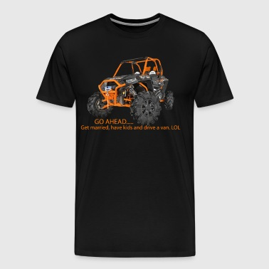 RZR XP Go Ahead - Men's Premium T-Shirt