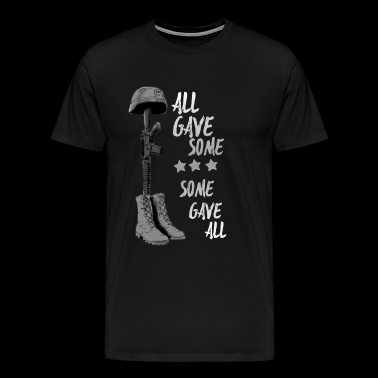 all gave some some gave all Bw Memorial Day - Men's Premium T-Shirt