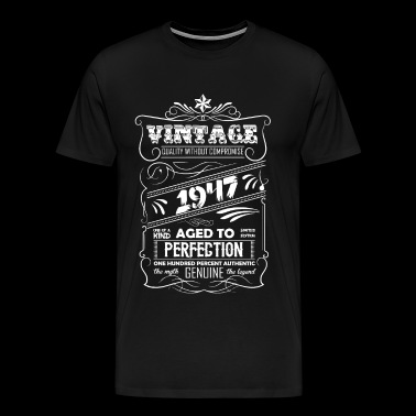 Vintage Aged To Perfection 1947 - Men's Premium T-Shirt