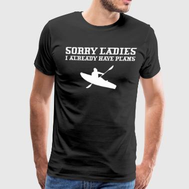 Sorry Ladies I Already Have Plans Karting - Men's Premium T-Shirt