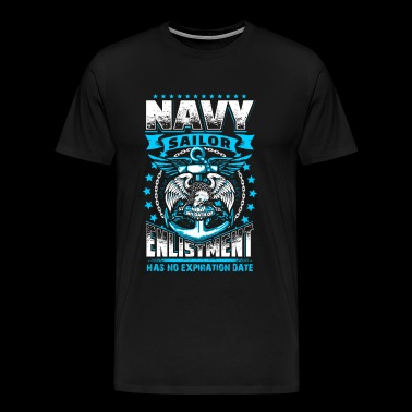 Navy Oath - Men's Premium T-Shirt