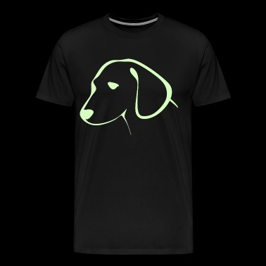 Dog animal - Men's Premium T-Shirt