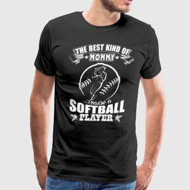 Softball Shirt - Softball Player Shirt - Men's Premium T-Shirt