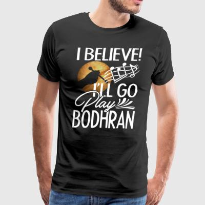Play Bodhran T Shirt - Men's Premium T-Shirt