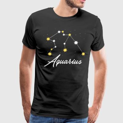 Aquarius Zodiac Shirt - Men's Premium T-Shirt