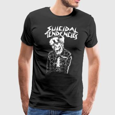 Metal Mulisha Suicidal Tendencies Skeleton - Men's Premium T-Shirt
