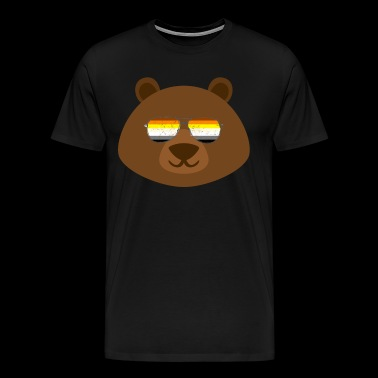 Gay Bear Sunglasses Gay Pride - Men's Premium T-Shirt
