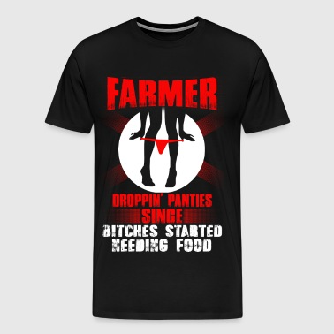 no farmer no food, farmers wife 8th Day - Men's Premium T-Shirt