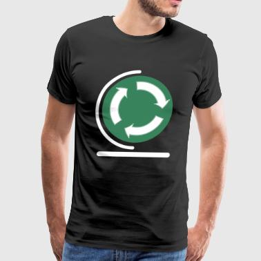 Save your planet! recycle sign - Men's Premium T-Shirt
