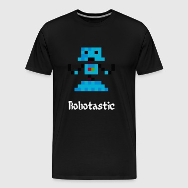 8 Bit Robot Gaming - Men's Premium T-Shirt