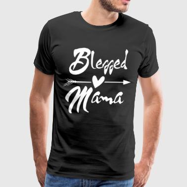 BLESSED MAMA - Men's Premium T-Shirt
