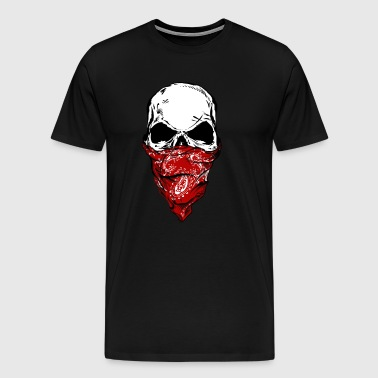 The Bandit Skull - Men's Premium T-Shirt