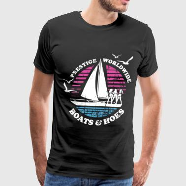 Boats N Hoes Step Brothers Huff Doback Anchor - Men's Premium T-Shirt