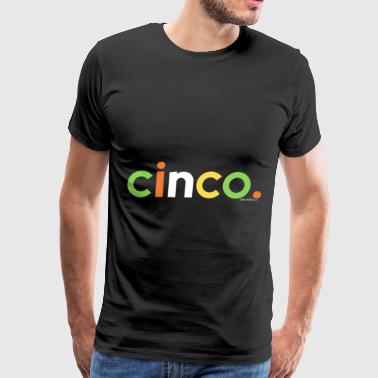 Kids 5th Birthday Shirt for Boys 5 Cinco Anos Kids - Men's Premium T-Shirt