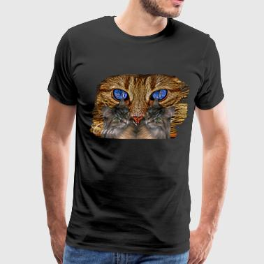 Cat,cats, - Men's Premium T-Shirt