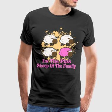 I'M THE PINK SHEEP OF THE FAMILY SHIRT - Men's Premium T-Shirt