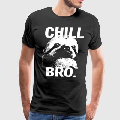 Chill Bro Sloth Cool Sloth - Men's Premium T-Shirt