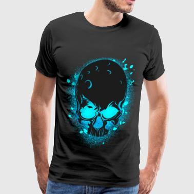 GLOW SKULL NEW - Men's Premium T-Shirt