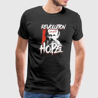 Kropotkin - Revolution Is Hope - Men's Premium T-Shirt