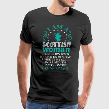 I Am A Scottish Woman T Shirt - Men's Premium T-Shirt