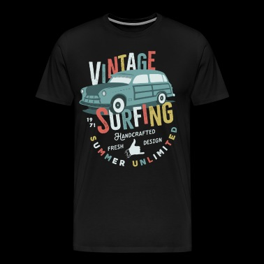 Surfing Vintage - Men's Premium T-Shirt