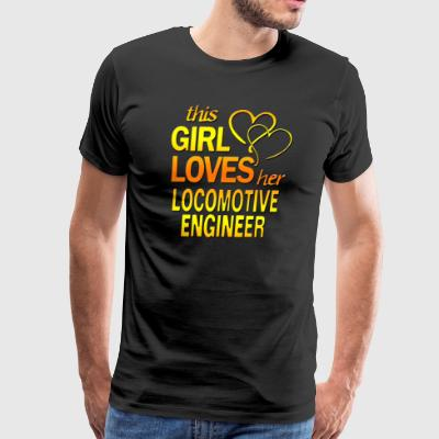 locomotive engineer - Men's Premium T-Shirt