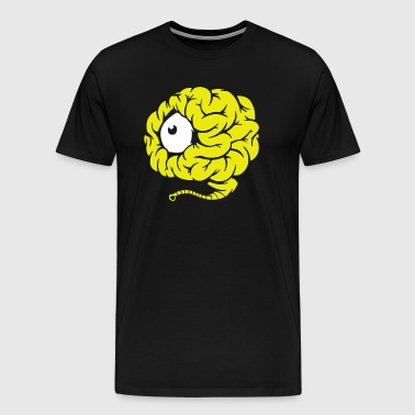 one eye monster - Men's Premium T-Shirt
