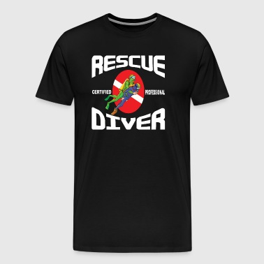 Rescue SCUBA Diver - Men's Premium T-Shirt