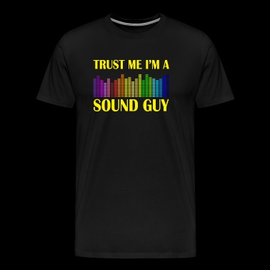 sound guy - Men's Premium T-Shirt