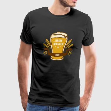 Beer - Craft Beer - Brew Master Extraordinaire - Men's Premium T-Shirt
