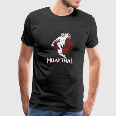 Muay Thai warriors T - shirt - Men's Premium T-Shirt