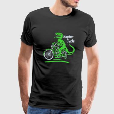 Raptor Raptor Cycle - Men's Premium T-Shirt