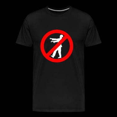 Zombie - No Zombies - Men's Premium T-Shirt