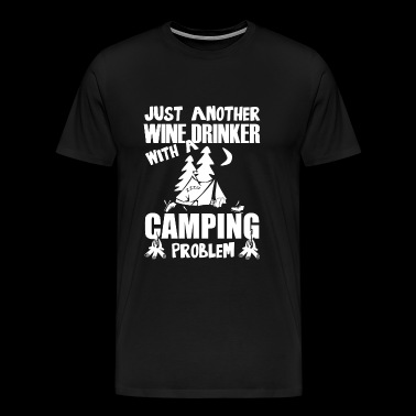 Drinker - Just Another Wine Drinker With A Campi - Men's Premium T-Shirt