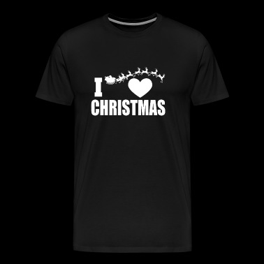 Christmas - i heart christmas - Men's Premium T-Shirt
