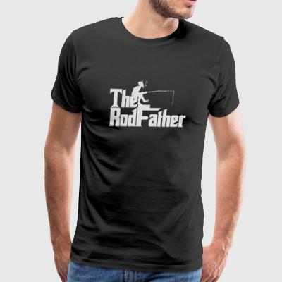 Fishing - THE ROD FATHER - Men's Premium T-Shirt