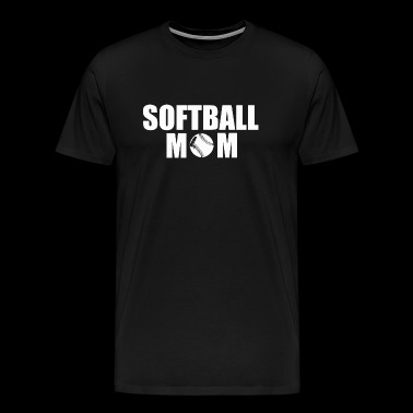 Softball mom - softball mom - Men's Premium T-Shirt