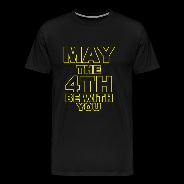 May the 4th - may the 4th be with you - Men's Premium T-Shirt