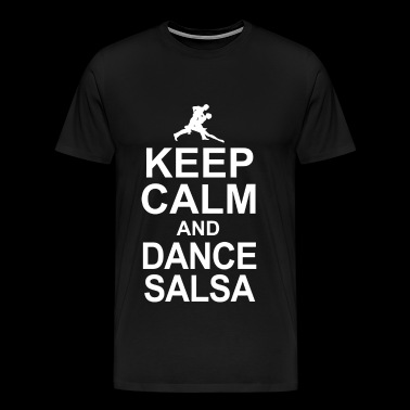 Dance salsa - keep calm and dance salsa - Men's Premium T-Shirt
