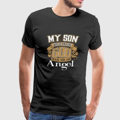 My Son - My Son Was So Amazing God Made Him An A - Men's Premium T-Shirt