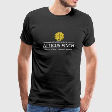 Law - Law Offices Of Atticus Finch - Men's Premium T-Shirt